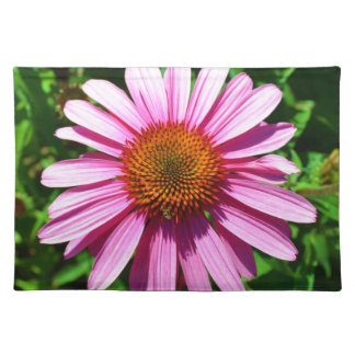 Sunny Day Echinacea Flower Placemat
