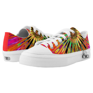 Sunny Day Fractal Low-Top Sneakers