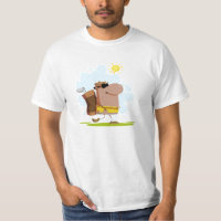 Sunny Day Golf - African American T-Shirt