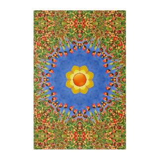 Sunny Day Kaleidoscope    Acrylic Wall Art