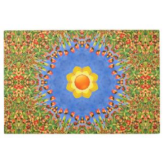 Sunny Day Kaleidoscope   Metal Print, 15 sizes Metal Photo Print