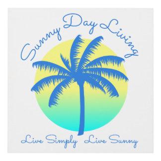 Sunny Day Living Wall Art