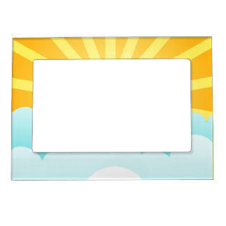 Sunny day magnetic frame