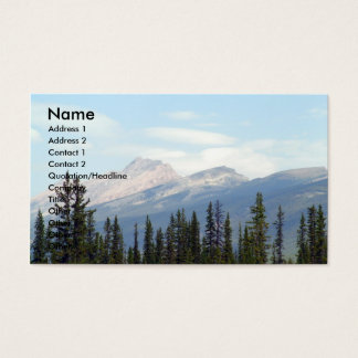 Sunny Day/Mountains Business Card