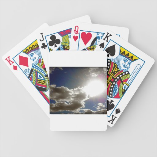 Sunny Day Poker Cards