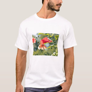 Sunny day poppies T-Shirt