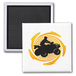 SUNNY DAY RIDE REFRIGERATOR MAGNET