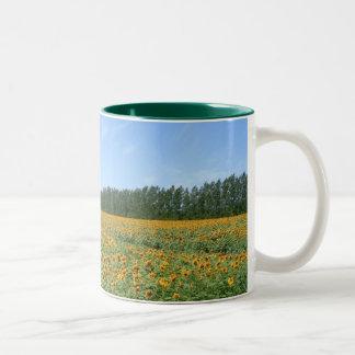 Sunny Day Two-Tone Coffee Mug