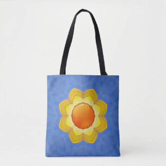 Sunny Day Vintage Kaleidoscope    Tote Bag