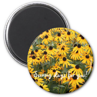 Sunny days for you! magnet