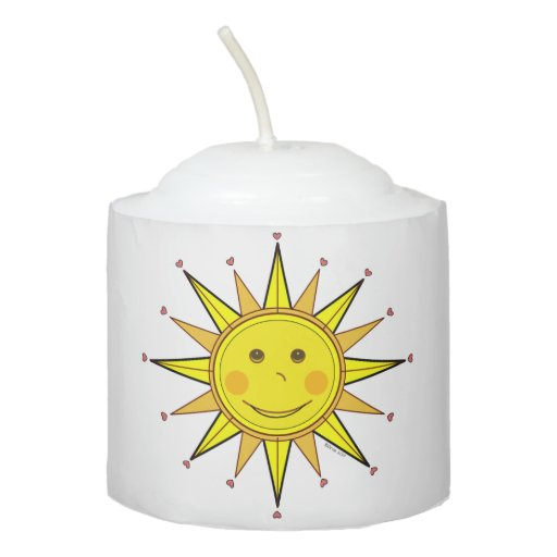 Sunny Days Votive Candle