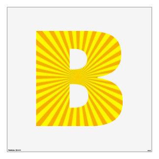 Sunny Days Wall Decal Alphabet B Large