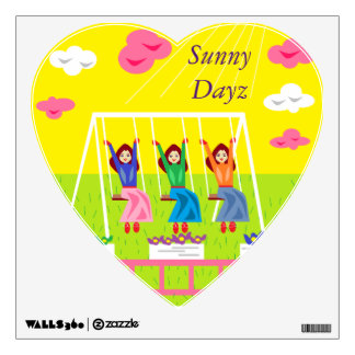 Sunny Dayz Room Sticker