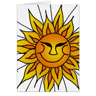 Sunny Daze Card