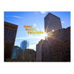 Sunny Denver, Colorado Postcard