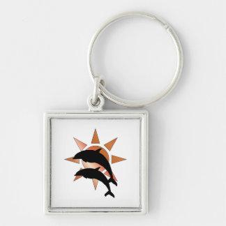 Sunny Dolphin Keychain