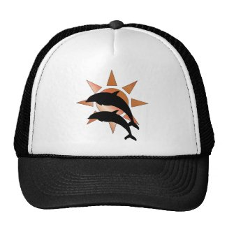 Sunny Dolphin Hats For Men