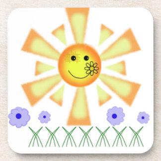 Sunny Drink Coaster
