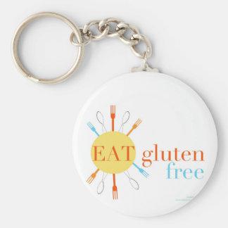Sunny Eat Gluten Free Keychain