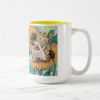 """Sunny"" Fairy Mug"