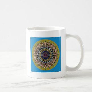 Sunny Fall Day Kaleidoscope Coffee Mug
