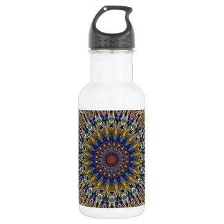 Sunny Fall Day Kaleidoscope Stainless Steel Water Bottle
