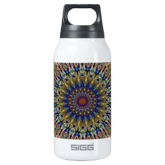 Sunny Fall Day Kaleidoscope Thermos Bottle