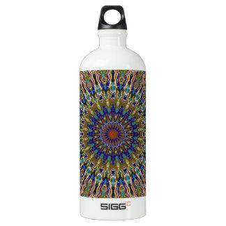 Sunny Fall Day Kaleidoscope Water Bottle