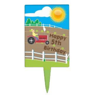Sunny Farm Cake Topper