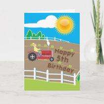 Sunny Farm Card