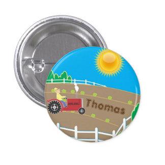 Sunny Farm Pinback Button