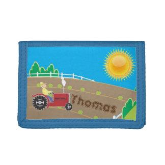 Sunny Farm Tri-fold Wallet