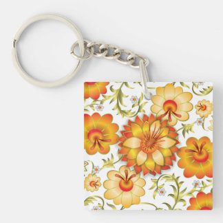 Sunny Favorable Approve Believe Keychain