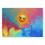 Sunny Fire and Ice Card