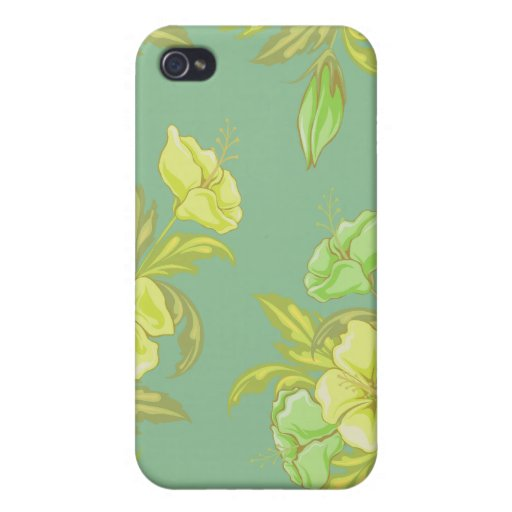 Sunny Floral 4s  iPhone 4 Case