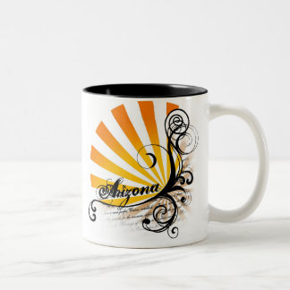 Sunny Floral Graphic Arizona Mug