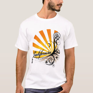 Sunny Floral Graphic California T-Shirt