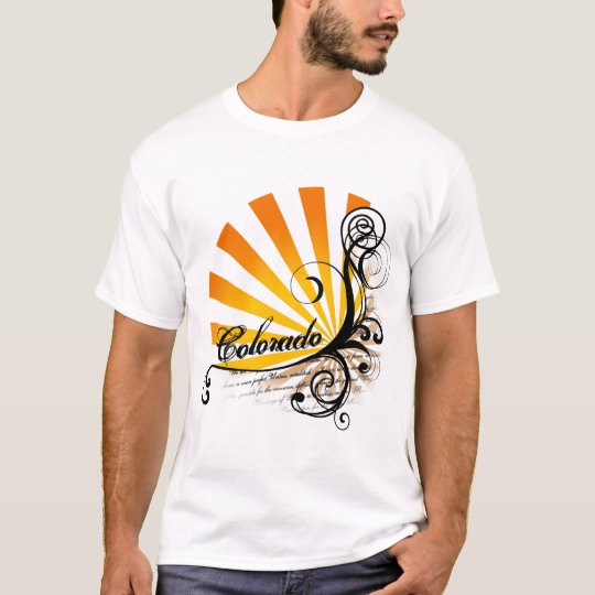 Sunny Floral Graphic Colorado T-Shirt