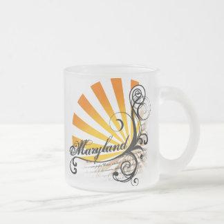 Sunny Floral Graphic Maryland Mug Glass