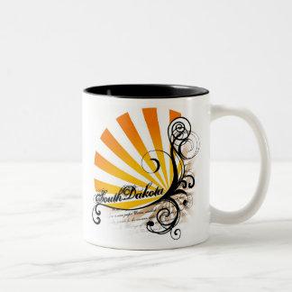 Sunny Floral Graphic South Dakota Mug