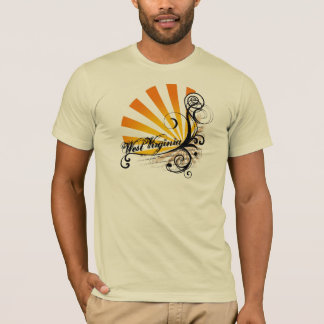 Sunny Floral Graphic West Virginia T-Shirt Mens