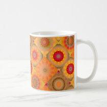 Sunny Floral Patterned Design Mug