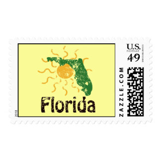 Sunny Florida Postage Stamps