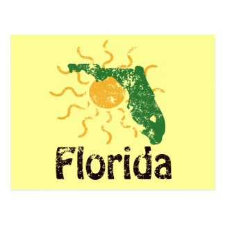 Sunny Florida Postcard