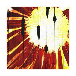 Sunny Flower Barn Canvas Print