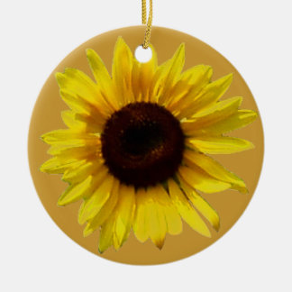 Sunny Flower Memorial Ornament