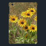 "sunny flowers case for the iPad mini<br><div class=""desc"">A cluster of black-eyed susans in the sun.</div>"