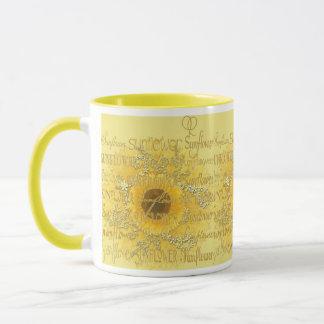 sunny flowers for all..... mug
