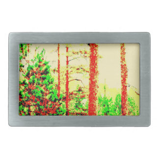 Sunny forest belt buckle