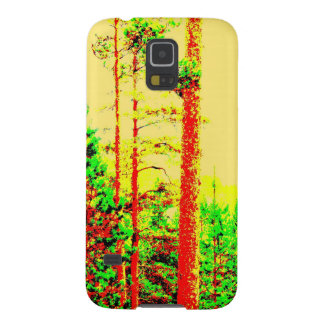 Sunny forest galaxy s5 covers